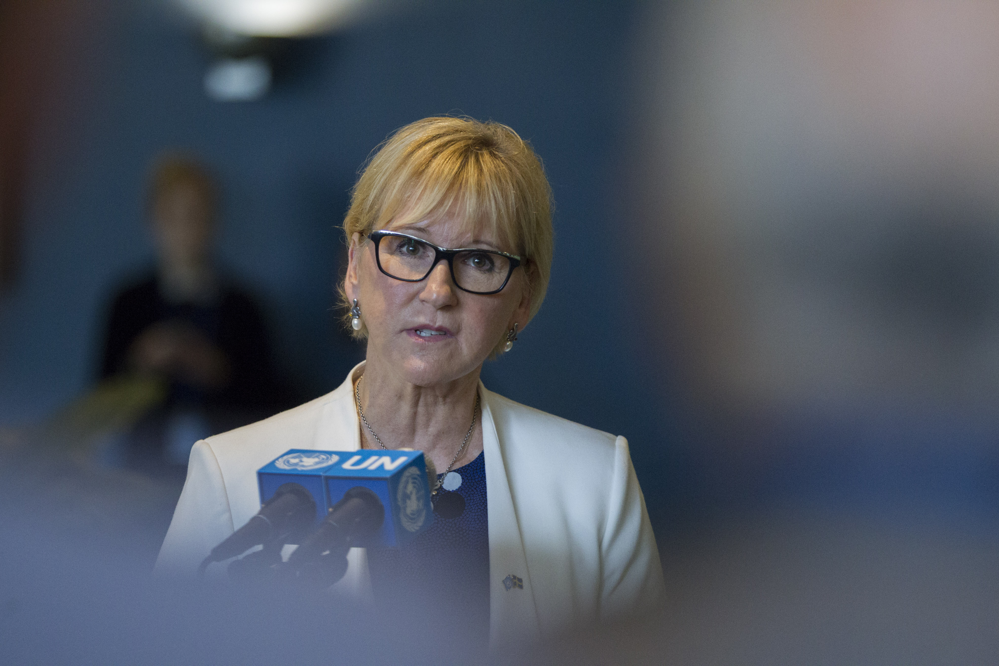 Minister for Foreign Affairs Margot Wallstrom