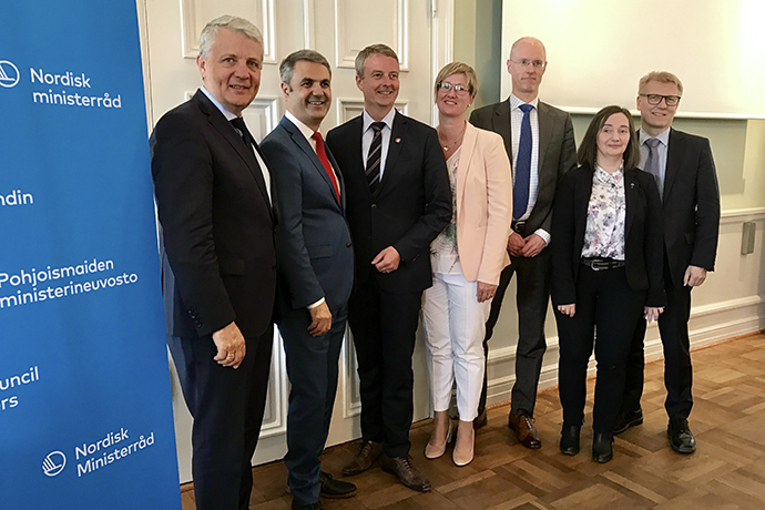 The Nordic energy ministers