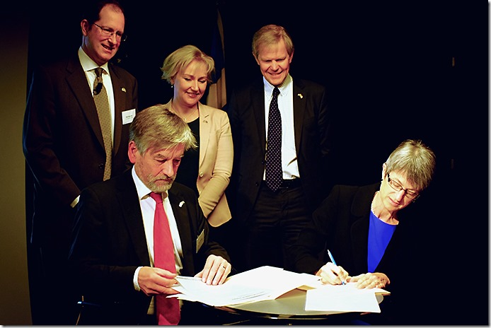 New Research Agreement Between Sweden And The United States