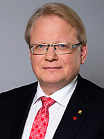 Minister for Defence Peter Hultqvist