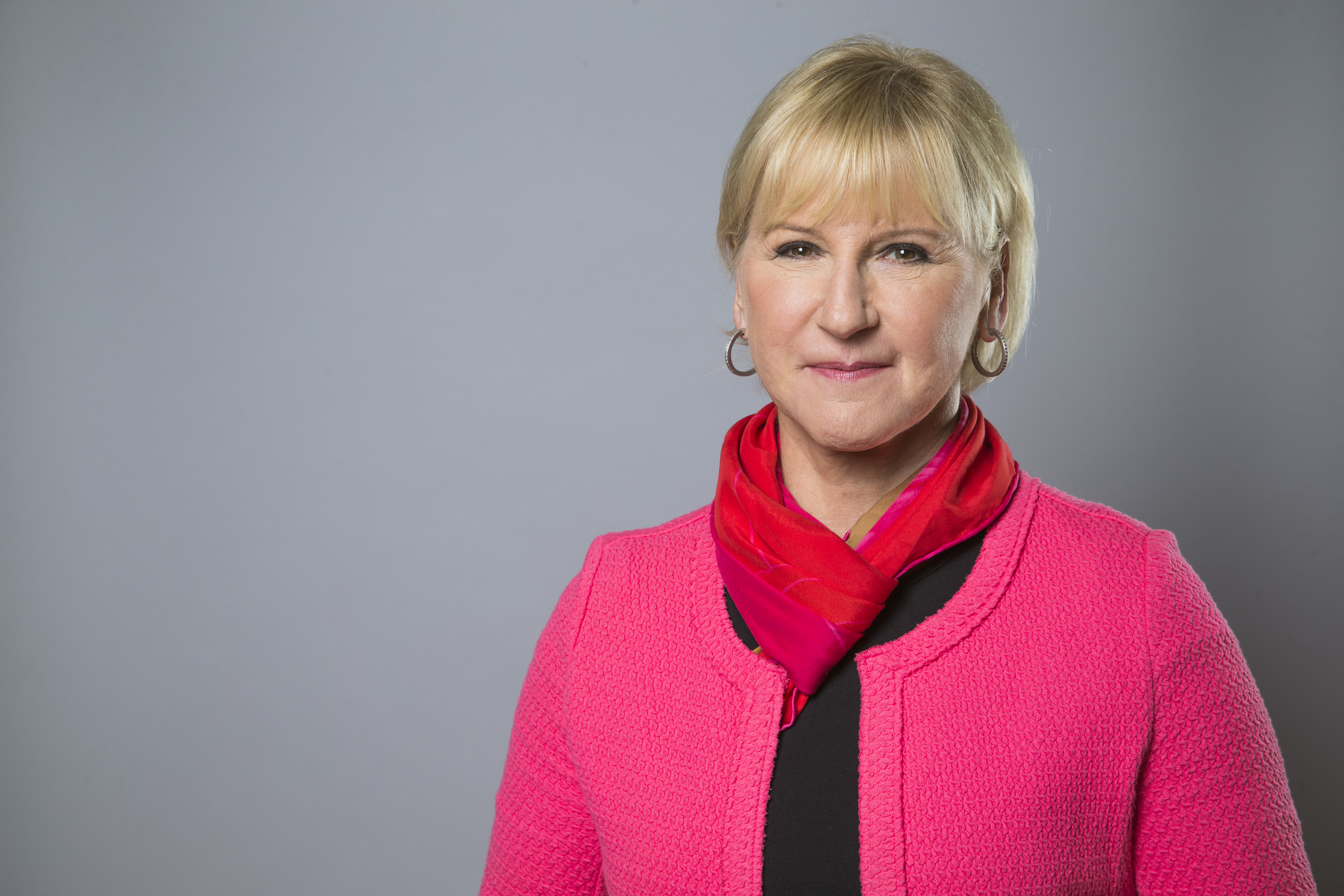 Portrait of Ms Margot Wallström