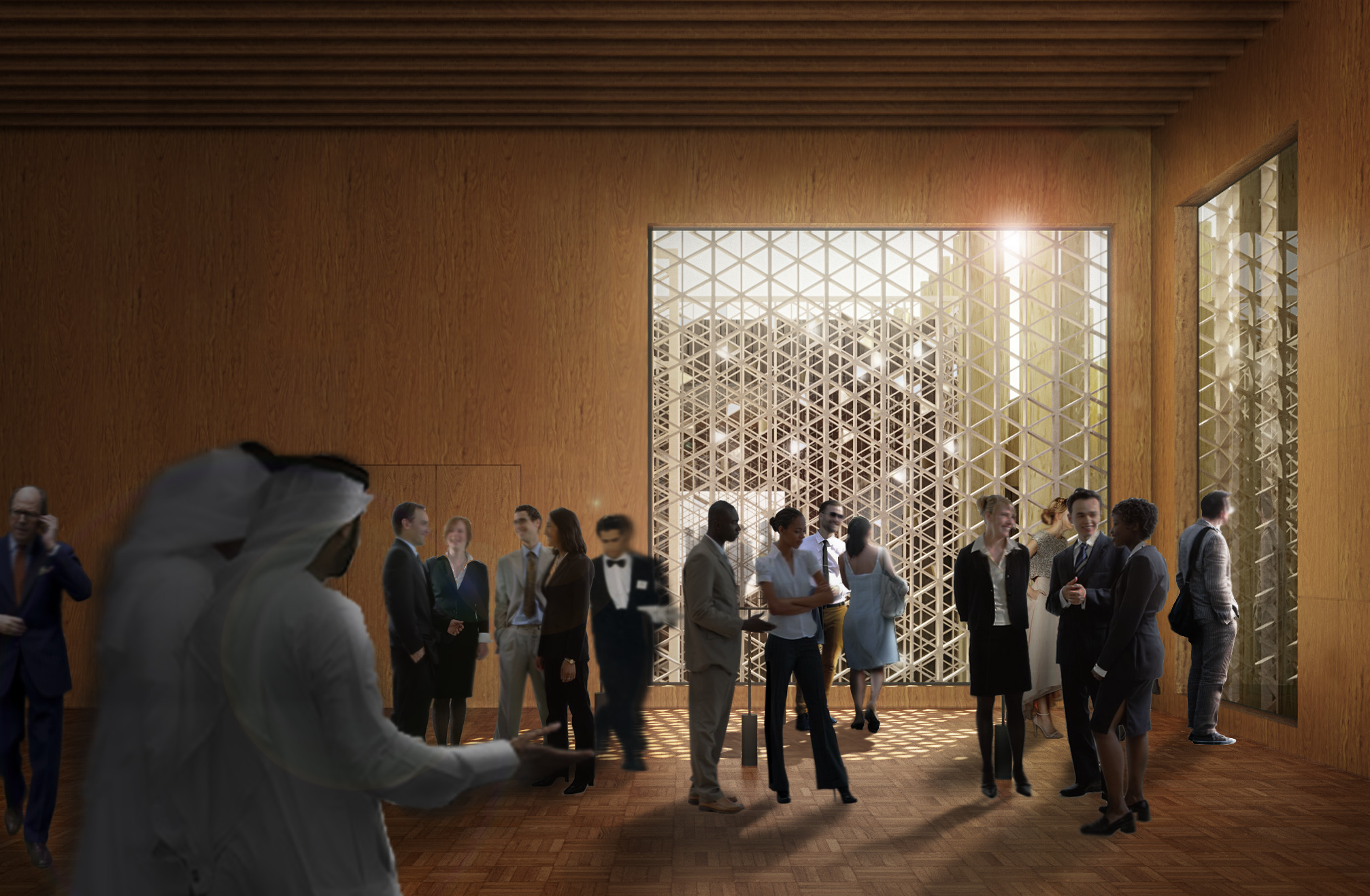 The Swedish Pavilion at Expo 2020 in Dubai: The Forest - Government se