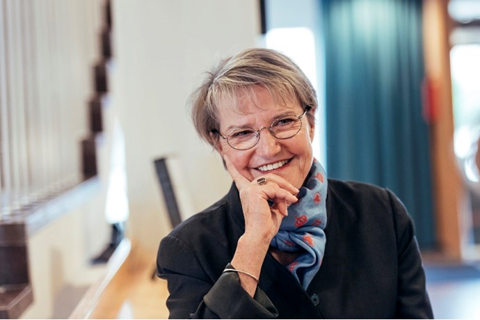 Photo of Kristina Persson, Minister for Strategic Development and Nordic Cooperation