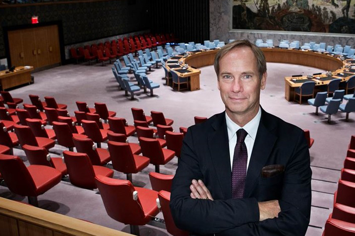 Sweden's Ambassador to the UN, Olof Skoog