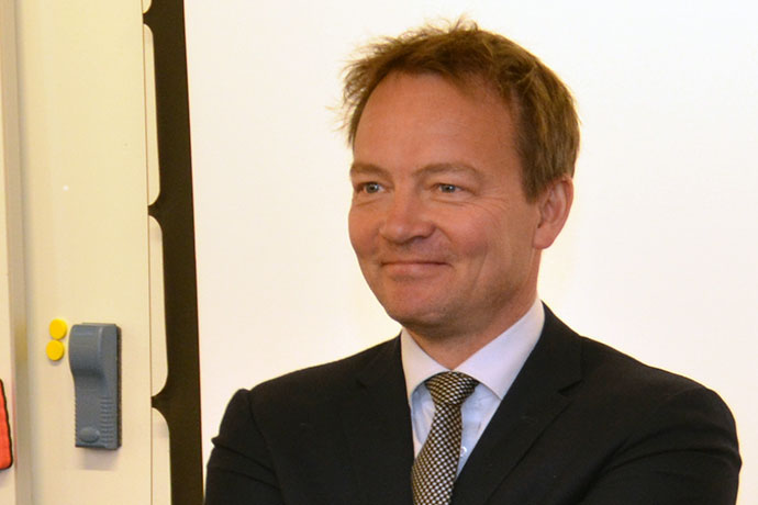 Picture of Per-Anders Sunesson, Sweden´s new ambassador to combat trafficking in human beings.