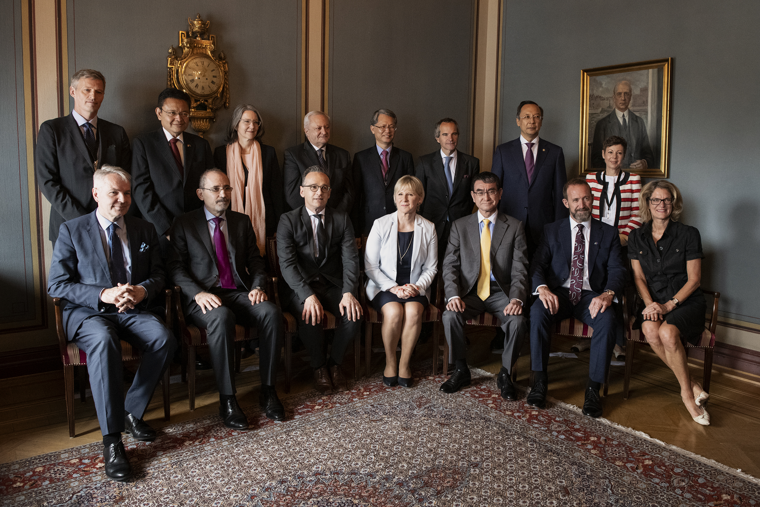Participants of the Stockholm Ministerial Meeting on Nuclear Disarmament and the Non-Proliferation Treaty on 11 June, 2019