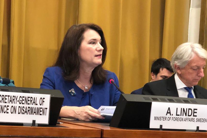 Minister for Foreign Affairs Ann Linde