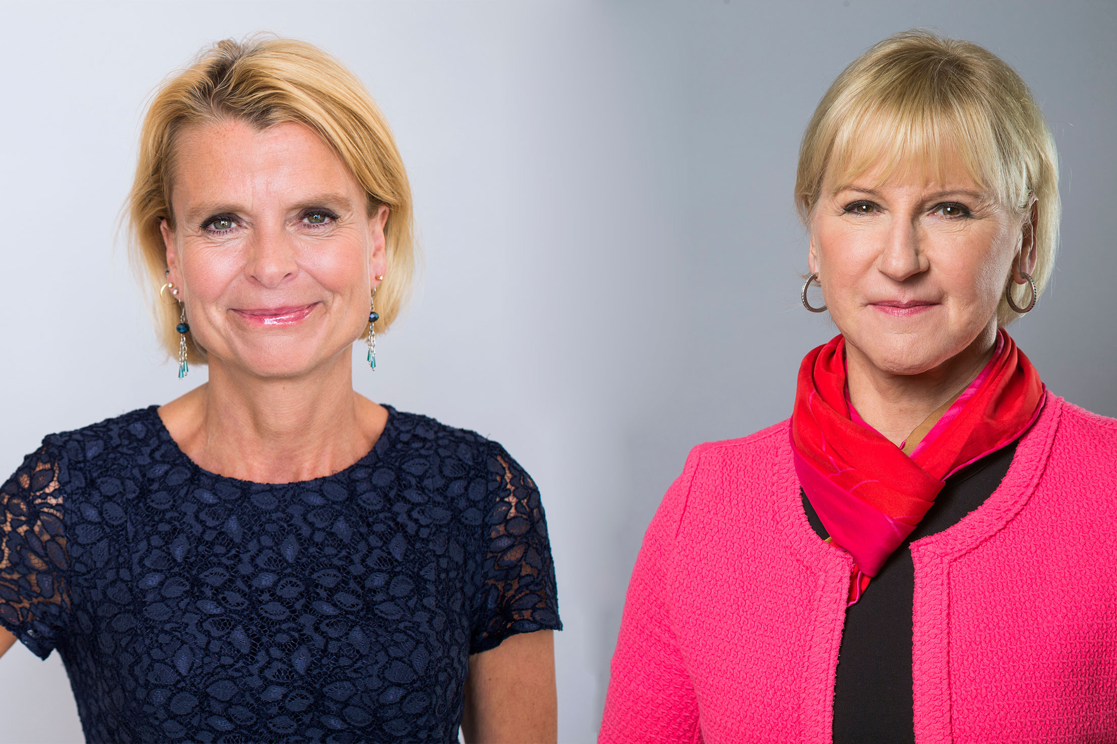 Photo of Minister for Children, the Elderly and Gender Equality, Åsa Regnér, and Minister for Foreign Affairs, Margot Wallström.
