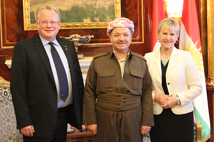 Meeting with KRG President Barzani.