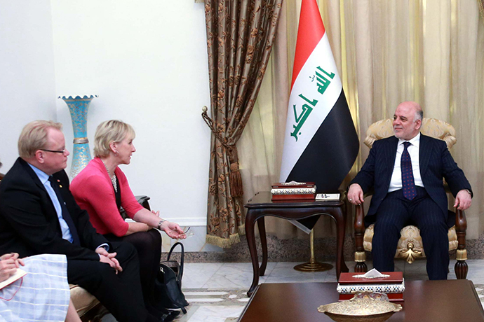 Meeting with Prime Minister Haider al-Abadi