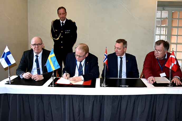 Finland, Norway and Sweden signed an annex concerning security of supply.