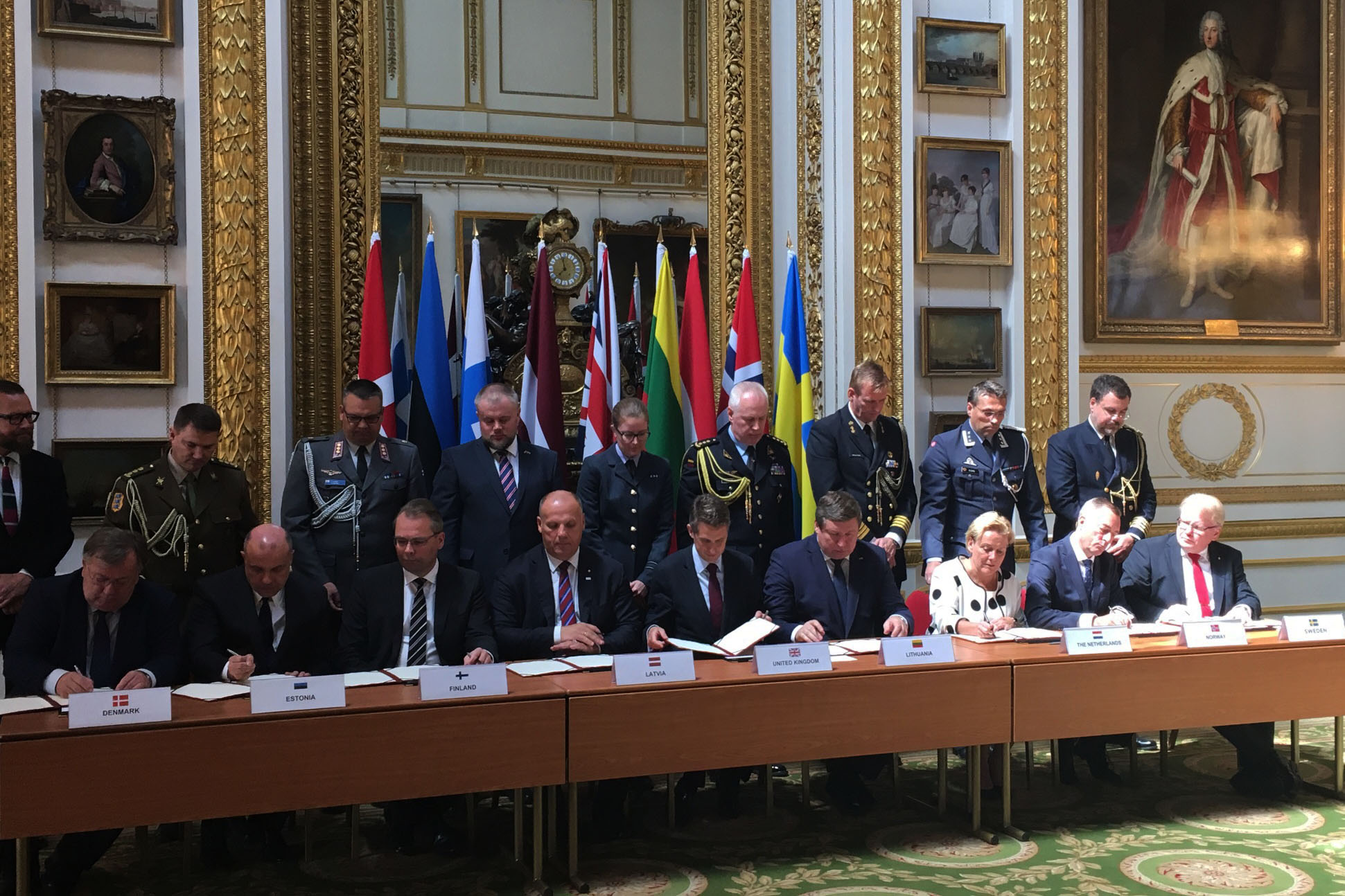 At the meeting, the defence ministers discussed the future vision of JEF, with the agreed view that JEF is an important building block of the security policy cooperation in northern Europe.
