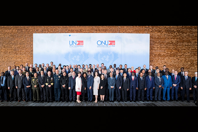This year, ministers of defence and international organisations from some 70 countries participated