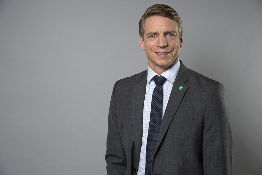 Minister for Environment and Climate, and Deputy Prime Minister Per Bolund.