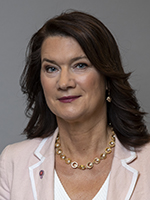 Ann Linde, Minister for Foreign Trade, with responsibility for Nordic affairs