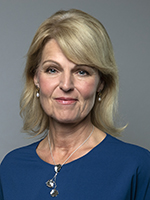 Anna Hallberg, Minister for Foreign Trade, with responsibility for Nordic affairs