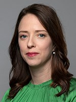 Åsa Lindhagen, Minister for Financial Markets and Deputy Minister for Finance