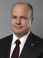 Morgan Johansson, Minister for Justice and Migration