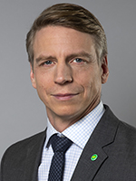 Per Bolund, Minister for Environment and Climate, and Deputy Prime Minister