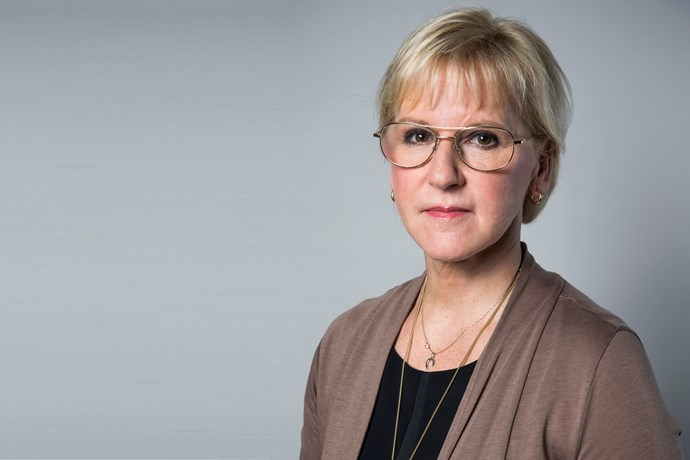 Minister for Foreign Affairs  Margot Wallström