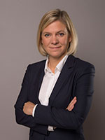 Minister for Finance Magdalena Andersson.